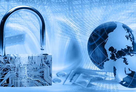 How can a business keep up to date with emerging cyber threats?