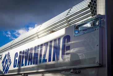 Joseph Ash Galvanizing truck