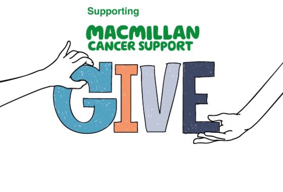 Staff get Christmassy for Macmillan