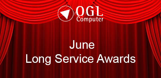 OGL celebrates 60 years of combined staff service in June
