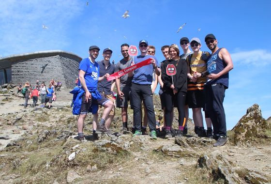OGL employees climb Mount Snowdon to raise funds for colleague