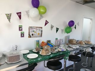 We love the Macmillan Coffee Morning, any excuse for cake!