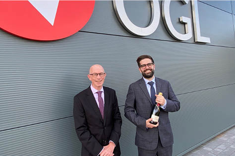David Jubb Celebrates 10 Years at OGL